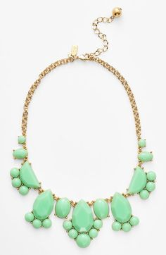 kate spade new york 'day tripper' bib necklace available at #Nordstrom