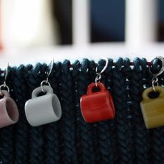 Mug stitchmarkers for knitting