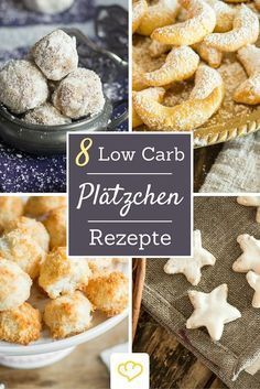 Naschen ohne Reue: hier kommen 8 Low Carb Weihnachtsplätzchen-Rezepte, die so l… Snacking without remorse: here are 8 Low Carb Christmas Cookie recipes that are so delicious that you can hardly believe that they actually have less carbohydrates.