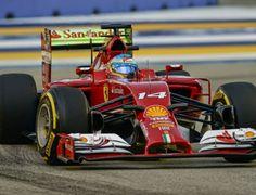 Blog Esportivo do Suíço: Alonso supera as Mercedes no 1º treino livre em Cingapura