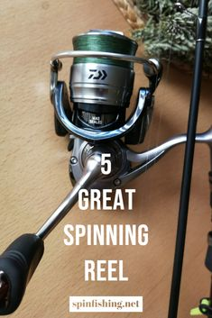 5 Great Spinning Reel of proven quality and some of them have cult status in the fishing world. When fishing with artificial baits, it is of the utmost importance that the fishing reel fits perfectly Sup Fishing, Fishing Box, Fishing World, Fishing Life, Sport Fishing, Best Fishing, Fishing Reels, Topwater Lures, Salt Water Fish
