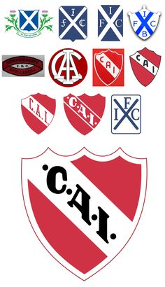 Club Atlético Independiente. #futbolargentino Football Team Logos, World Football, Badges, Team Mascots, Old Logo, Great Logos, National League, Club, Sports Logo
