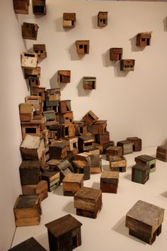 carnetimages-8: Little houses by Cuban artist Roberto Diego via designtripper