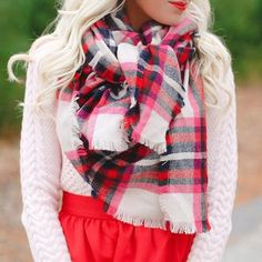 """My all time favorite #blanketscarf is now back in stock! ❤️So perfect for the #holiday season, it may sell out quick beware!  @liketoknow.it www.liketk.it/1WvG8 #liketkit #ootd #styleinspo #tistheseason #ltkunder50 #plaid #fashion"" Photo taken by @mckennableu on Instagram, pinned via the InstaPin iOS App! http://www.instapinapp.com (11/06/2015)"