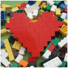 Odlingspyssel - Alla hjärtans dag-pyssel kuvert av hjärta