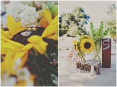 DIY Rustic Sunflower Wedding | Teal Photography | Bridal Musings