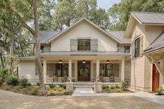 Country Style House Plan - 3 Beds 3.5 Baths 2946 Sq/Ft Plan #928-13 Exterior - Front Elevation - Houseplans.com