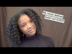 {238} how i got my most defined #naturalhair twist-out EVER! natural hair journey