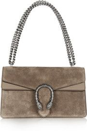 Gucci Dionysus small suede shoulder bag. I have never been a Gucci fan until I saw this bag, they hit a homerun!
