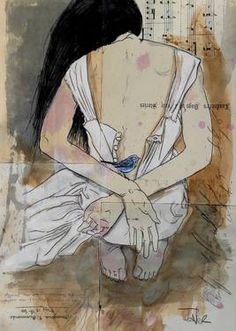 "Saatchi Art Artist Loui Jover; Drawing, ""stories"" #art"