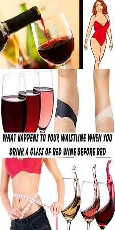 This is What Happens to Your Waistline When You Drink a Glass of Red Wine Before Bed!