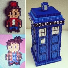 Doctor Who hama beads by  marinamichael95