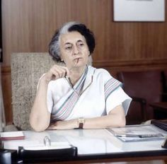 "Inspirational quotes by famous women: INDIRA GANDHI ""My grandfather once told me that there were two kinds of people: those who do the work and those who take the credit. He told me to try to be in the first group; there was much less competition."