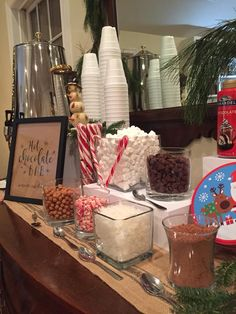 Our favorite Winter tradition! A sweet treat for all of our guests! Brandywine Valley, Hot Cocoa Bar, Beautiful Farm, Homemade Breakfast, Handmade Pillows, Bed And Breakfast, Sweet Treats, Dishes, Winter