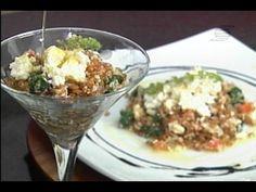 Espaço Gourmet - Salada de Trigo Grosso com Ricota e Espinafre