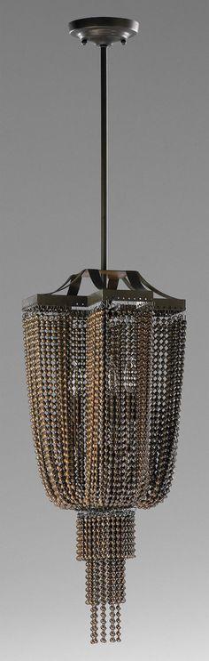 Marcello Pendant in Oiled Bronze design by Cyan Design