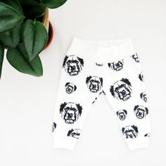 Border Terrier Organic Cotton Baby Girl Boy Leggings, Dog Themed Baby Shower Gift, Baby Pants For Dog Lover, Dog Print Baby Clothes Sewing Baby Clothes, Baby Sewing, Baby Leggings, Baby Pants, Baby Shower Themes, Baby Shower Gifts, Border Terrier, Organic Baby Clothes, Baby Month By Month