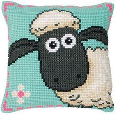 Shaun The Sheep Cross Stitch