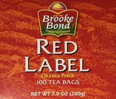 Red Label Tea 100 bags >>> Click image to review more details. (This is an affiliate link) #Herbal