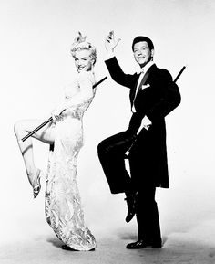 Donald O'Connor and Marilyn Monroe  - www.more4design.pl – www.mymarilynmonroe.blog.pl – www.iwantmore.pl