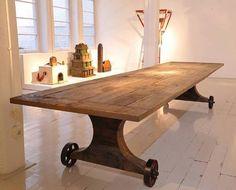 Florian Borkenhagen  Wood, metal 30.5 x w: 165.4 x d: 41.3 in