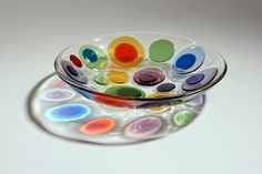 Ruth Shelley, contemporary glass artist - gallery pages - colours