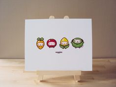 Eat Your Vegetables Art Print on Etsy