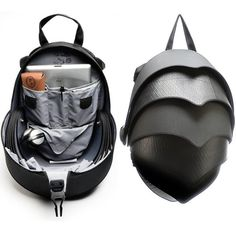 Uniquely designed backpack inspired by the Pangolin animal - could consider biomimicry and how animal protect themselves Things To Buy, Stuff To Buy, Cool Backpacks, Unisex, Leather Bag, Steampunk, Mens Fashion, Purses, Cool Stuff