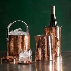 Hammered Copper Wine Chiller | Williams-Sonoma
