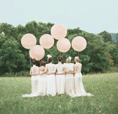 You've gotta admit, that intro image has grabbed your attention. Giant balloons, a controlled amount of delicate greenery, soft, sage bridesmaid dresses + floral ties. Even aside from all the perfect design elements, Joanie + Cale had the right ideawhen pulling together the details for their big day: they wanted a relaxed celebration that focused...