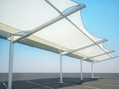 Discover Tensile Fabric Car Parking by Arif Saife - on Archh, a global community & network of architects, interior designers, photographers, architecture enthusiasts, professionals & vendors