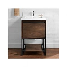 Fairmont Designs 1505 V24 M4 Natural Walnut Bathroom Vanity 24 X 21 1/2 X  34 1/2