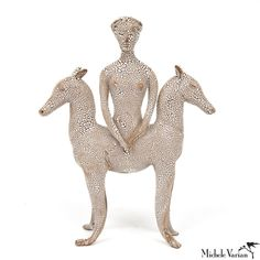 Weird and wonderful. Horse Goddess Sculpture
