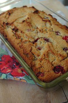Cranberry-Orange Quickbread (grain-free, dairy-free)