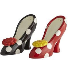 Cute Heels Salt & Pepper Shakers