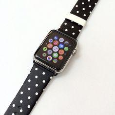 Handmade Hand-made Apple Watch iWatch Band Leather by HitaDesign