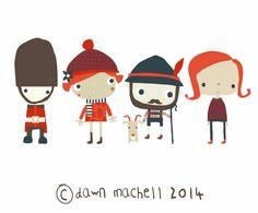 Illustration by Dawn Machell