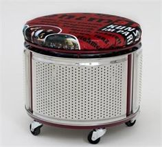 Trend: je oude wasmachinetrommel als meubelstuk?
