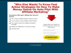 "Download our FREE report ""Affiliate Cash"" >> ways to make money online --> www.waystomakemoney.biz"