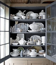 Lovely ironstone collection.