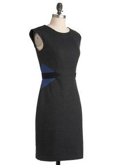 $89.99 Fiona's Positively Profesh Dress, #ModCloth