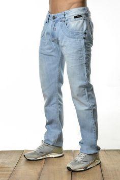 hombre para color Jeans claro azul fwqTnPX5