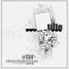 Sketchabilities: Sketch #134-Design Team Reveal-Creative Embellishments Sponsor