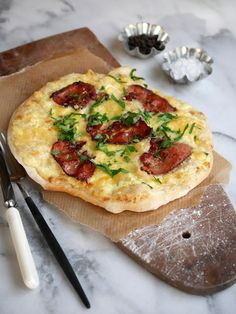 Taco Pizza, Mozzarella, Vegetable Pizza, Quiche, Snacks, Bacon, Food And Drink, Vegetables, Breakfast