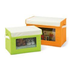 Seville Classics Fabric Storage Box Set, 2-Pack, Green/Orange Seville Classics http://www.amazon.com/dp/B00FZMTP3G/ref=cm_sw_r_pi_dp_2xvRvb18BZDZH