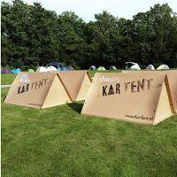 Kartent : une tente en carton !