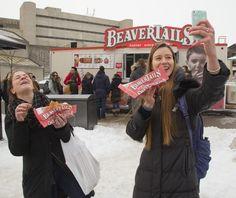 Two amazing reactions :) #BeaverTails via @MikeHatLFPress on TW