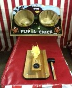 Flip A Rubber Chicken Carnival Game Rental