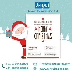 Sansui Electronics India largest Digital and Electronic weighing Scales Manufacturer and Supplier. As well as we provide Taximeter,crane scale and Weighbridge Jewelry Scale, Weighing Scale, Merry Christmas, Happiness, Joy, Memories, Times, Electronics, Merry Little Christmas