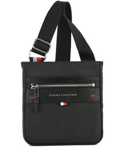 01b6168f769 Crossbody Bag Tommy hilfiger Black elevated AM03919 학교 가방, 토미 힐피거, 크로스백